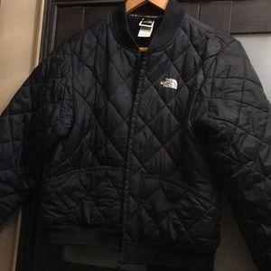 Women's northface jacket black sz L